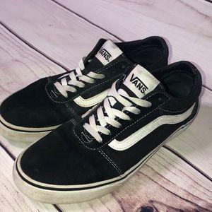 Old Skool Black and White Vans